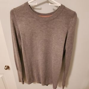 Size 4 Lululemon Gray open back sweater